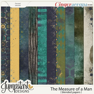 The Measure of a Man {Blended Papers} by Jumpstart Designs