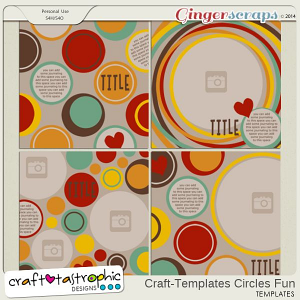 Craft-Templates Circles Fun