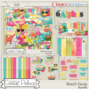 Beach Vacay - Bundle by Connie Prince