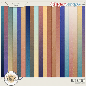 Free Spirit - Ombre Papers - by Neia Scraps