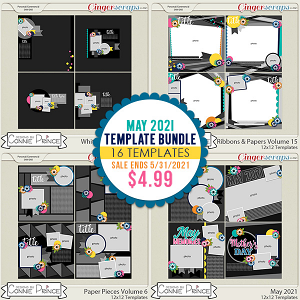 May 2021 Template Bundle by Connie Prince