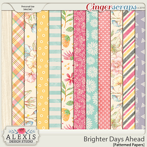 Brighter Days Ahead - Patterned Papers