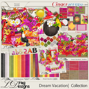 Dream Vacation: The Collection by LDragDesigns