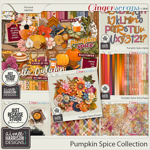 Pumpkin Spice Collection by Aimee Harrison and JB Studio