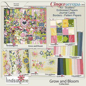 Grow and Bloom Collection by Lindsay Jane