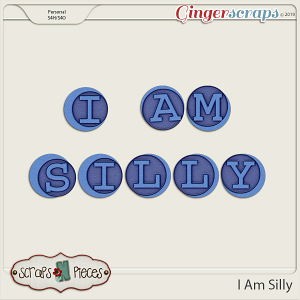 I Am Silly Alpha by Scraps N Pieces