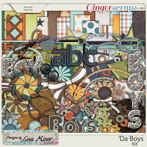 Da' Boys from Designs by Lisa Minor