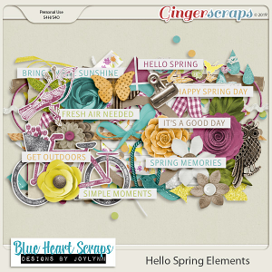 Hello Spring Element Pack