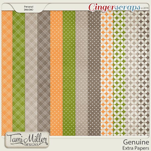 Genuine Extra Papers by Tami Miller Designs