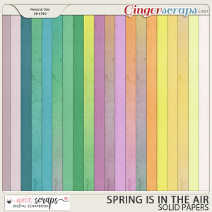 Spring is in the Air - Solid Papers - by Neia Scraps