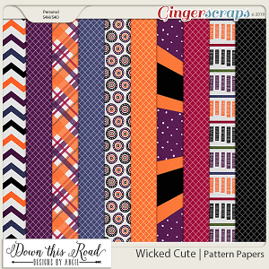 Wicked Cute | Pattern Paper Pack
