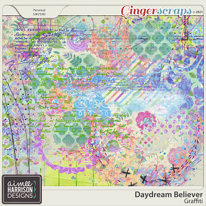 Daydream Believer Graffiti by Aimee Harrison