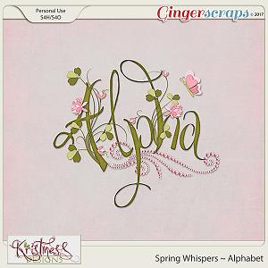 Spring Whispers Alphabet