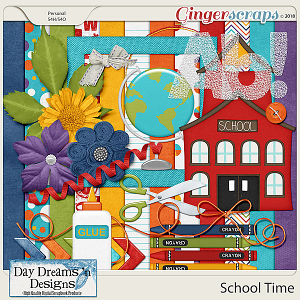 School Time {Mini Kit} by Day Dreams 'n Designs