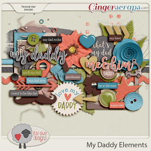 My Daddy Elements by Luv Ewe Designs
