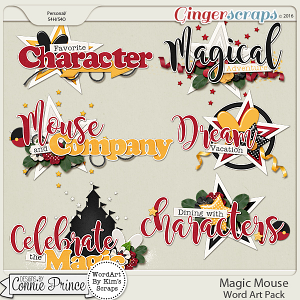 Magic Mouse - Word Art