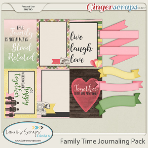 Family Time Journaling Pack