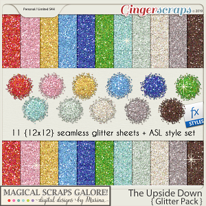 The Upside Down (glitter pack)