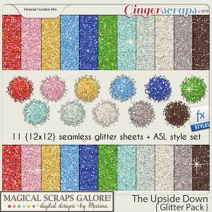 The Upside Down (glitter pack)