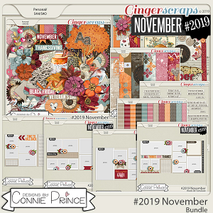 #2019 November - Bundle Collection by Connie Prince