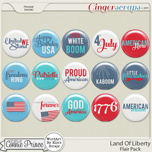 Land Of Liberty - Flair Pack