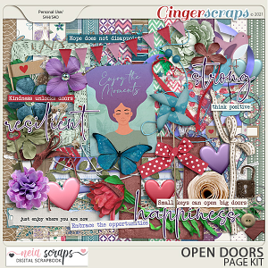 Open Doors - Page Kit - by Neia Scraps