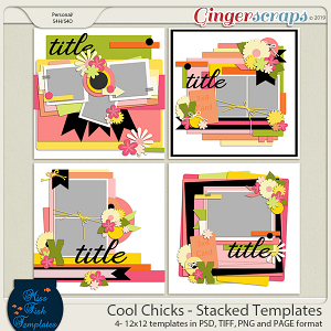 Cool Chicks Templates by Miss Fish