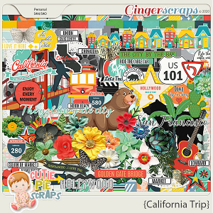 California Trip-Page Kit