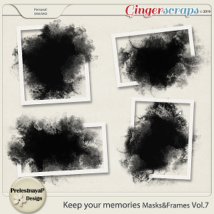 Keep your memories Masks&Frames Vol.7