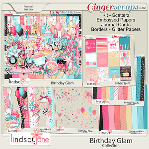 Birthday Glam Collection by Lindsay Jane