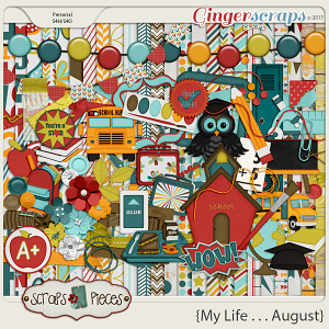 My Life - August Kit by Scraps N Pieces