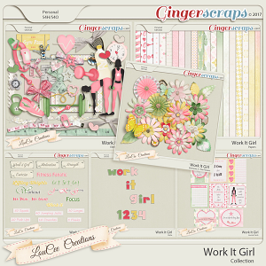 Work It Girl Collection by LouCee Creations