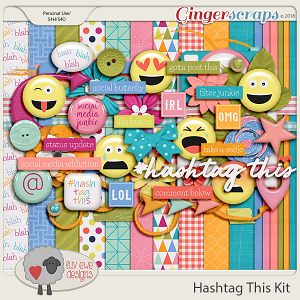 Hashtag This Kit by Luv Ewe Designs