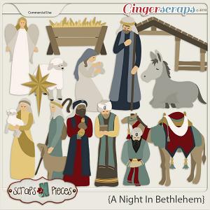 A Night In Bethlehem CU by Scraps N Pieces