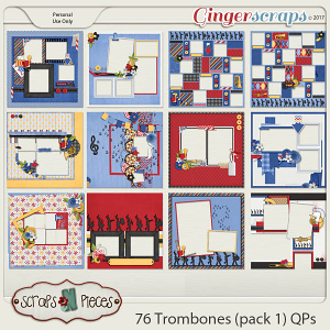 76 Trombones Quick Pages Pack 1