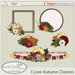I Love Autumn Clusters