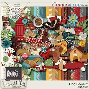 Dog Gone It Full Kit by Tami Miller and Aimee Harrison
