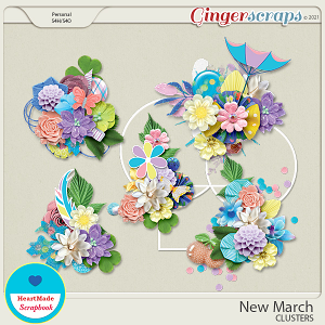New March - clusters