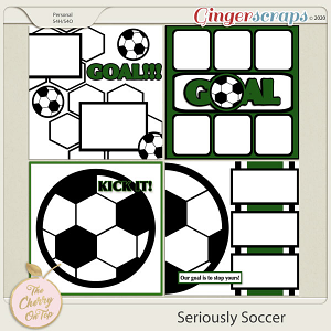 The Cherry On Top:  Seriously Soccer Templates