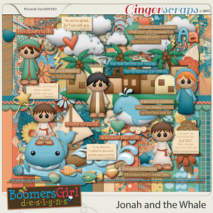 Jonah and the Whale by BoomersGirl Designs