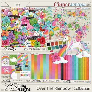 Over The Rainbow: The Collection by LDragDesigns