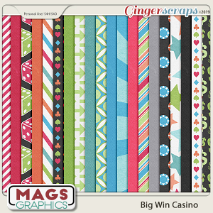 Big Win Casino PAPERS by MagsGraphics