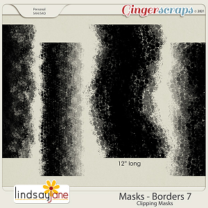 Masks Borders 7 by Lindsay Jane