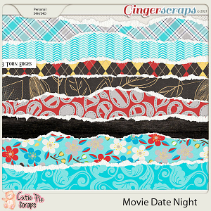 Movie Date Night Torn Edges