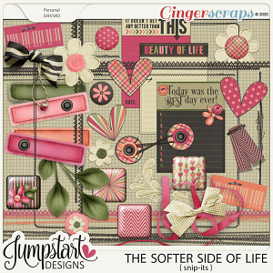 The Softer Side of Life {Snip-Its} by Jumpstart Designs