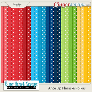 Ante Up Plain and Polka Papers