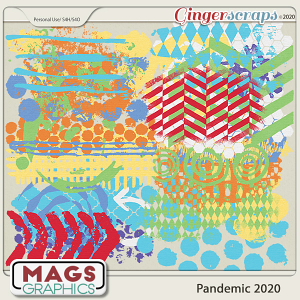Pandemic 2020 HODGE PODGE by MagsGraphics