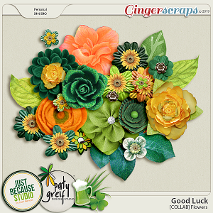 Good Luck Collab Flowers by JB Studio and Paty Greif