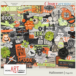 Halloween Page Kit
