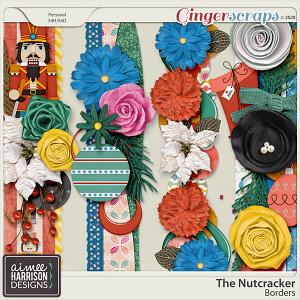 The Nutcracker Borders by Aimee Harrison
